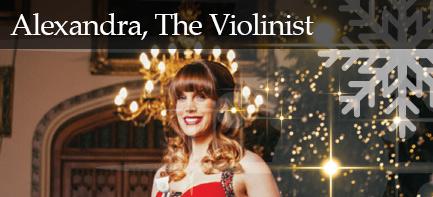 Alexandra, Violinist